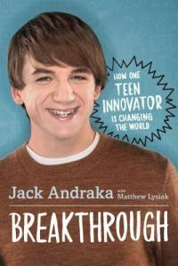 Breakthrough Jack Andraka teen bio photo of author smiling