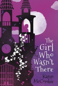 the girl who wasn't there clock tower with shadow of girl bright moon