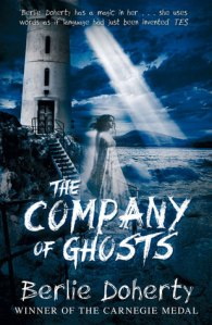 the company of ghosts lighthouse over sea ghost girl gliding down steps