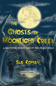 the ghosts of moonlight creek full moon over river old man with pick axe
