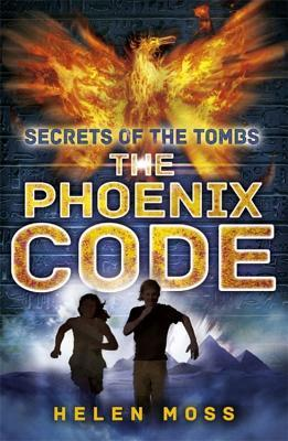 The Phoenix Code girl and boy running from pyramids in distance golden phoenix
