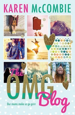 The OMG Blog 9 grid images of girls dog ice block and heart decorations