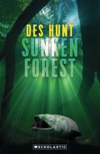 Des Hunt Sunken Forest big fish underwater green light rays