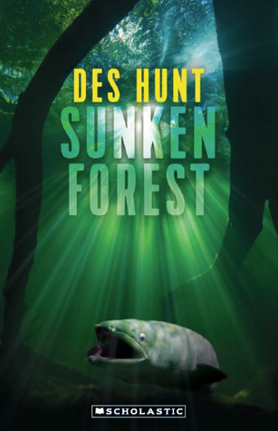Des Hunt Sunken Forest big fish underwater green light rays
