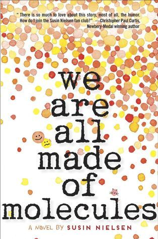 We are all made of molecules multi-coloured dots around words