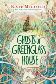 Ghosts of greenglass house old house in middle of large antlers strung with ribbon