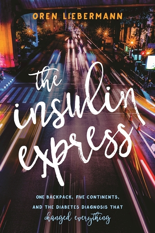 The insulin express road at night streetlights and car lights pedestrian crossing
